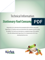 Stationary Fuel Consumption Test