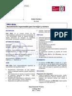 Ficha Tecnica Pro_seal