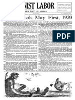 Communist Labor, Vol. 1, No. 5, May 1, 1920