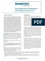 Can Say-on-Pay Curb Executive Compensation?