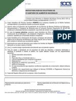 Requisitos Registro Sanitario de Alimentos