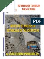 C5 DISEÑO GEOLOGICO GEOTECNICO ROCAS