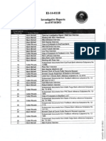 State Attorney's Office Index of BlueWare Documents