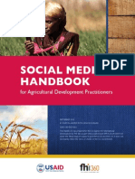 Social Media Handbook for Agricultural Development Practitioners