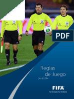 Reglamento Futbol FIFA