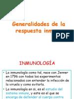 1.-Generalidades de La Respuesta Inmune180110