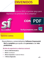 CONTPAQi Presentacion SeminarioFEPrimerpasoDigitalizar SICONTADOR 18Jun12