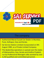 sai service management services