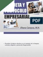 Etiqueta y Protocolo Empresarial 2013