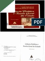Lênio Luiz Streck - Ciência Política e Teoria Geral do Estado