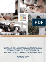 CÓDIGO DE LA PRODUCCIÓN ECUADOR 2013