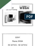 Sony Wega PlasmaTrainingTCI 275
