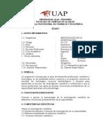 190119112 Metodologia de Investigacion