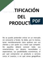 5. IDENTIFICACIÓN DEL PRODUCTO