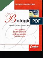 BIOLOGIE - Manual pentru clasa a XI-a, ed. Corint