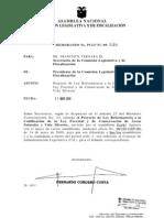Proyecto de Ley Reformatoria a La Codificacion de La Ley Forestal