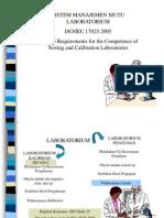 Standar manajemen mutu industri Modul 6-ISO 17025