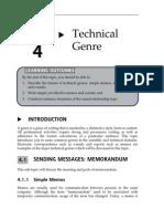 15152906 Topic 4 Technical Genre