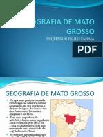 SLIDE Geografia de Mato Grosso