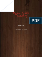 Mean Shift Tracking