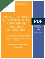 Instructivo Componente Practico Curso