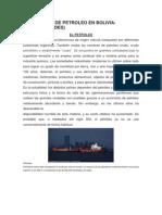 Produccion de Petroleo en Bolivia