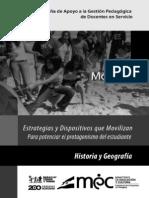 Módulo 4, 2011Historia y Geografía