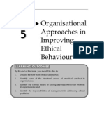 10091415Topic5OrganisationalApproachesinImprovingEthicalBehaviour