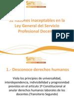 32 Razones inaceptables en la Ley General del.pdf