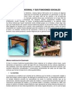 Musica Tradicional y Sus Funciones Sociales