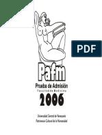 Manual Prueba de Admision Medicina Ucv 2011