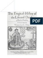 The Tragicall History of D. Faustus