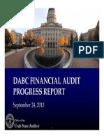 DABC Presentation - Financial Audit Procedures