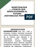 Biomimetizacion