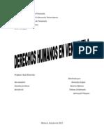 Derechos Humanos en El Mundo Occidental
