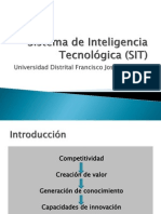 Sistema de Inteligencia Tecnológica (SIT)
