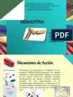 Memantina Expo Farmacologia