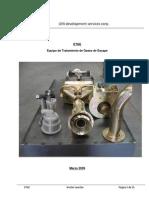 ETGE Equipo de Tratamiento De Gases de Escape (Exhaust gases treatment device) CO2,HC,CO,NOx equals for polution prevents.