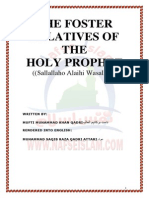 The Foster Relatives of the Holy Prophet (Sallallaho Alaihi Wasallam)