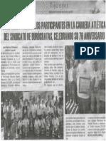 Triunfadores en La Carrera Atletica Del SUTSPEMIDBC