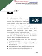 Bab8 Penggunaan Filter Dalam Photoshop