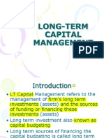 Long-Term Capital Financing