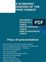 The Economic ion of the Shipping Market