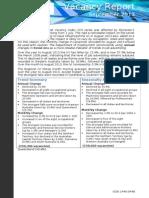 Vacancy Report September 2013.doc
