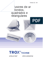 Trox - Difusores Gerais