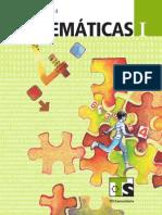 Libro para el alumno telesecundaria Matemáticas Vol1 ayudaparaelmaestro.blogspot.com