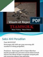 Visum Et Repertum Dan Criminal Profilling