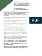 Mini Diccionario Para Quitar La Amargura
