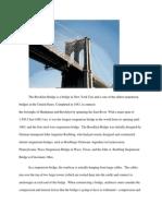 Brooklyn Bridge Report