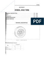 4F - Wheel and Tyre